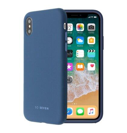 SoSeven Smoothie Silikonový Kryt pro iPhone 7/8 Blue Marin (EU Blister)