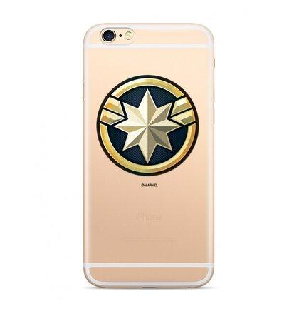 MARVEL Captain Marvel 016 Kryt pro Samsung J415 Galaxy J4+ Transparent
