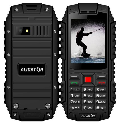 Aligator R12 eXtremo, Dual SIM, Čierny