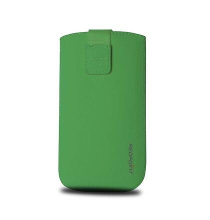 Univerzálne puzdro RedPoint Velvet, mikroplyš, zelené, veľkosť 4XL 142 x 74 x 8,9 mm