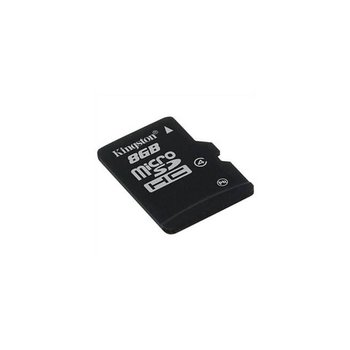 8GB Micro SDHC Kingston - class 4 (bez adaptéru)