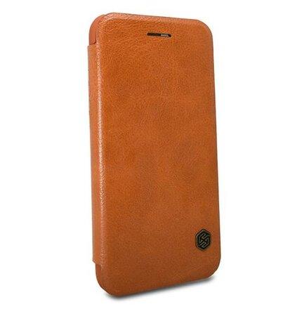 Nillkin Qin Book Pouzdro pro Samsung Galaxy M10 Brown