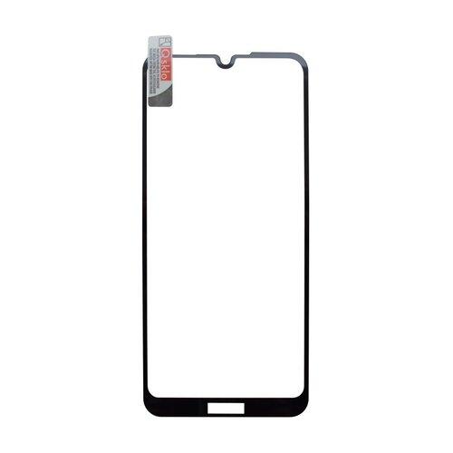 Ochranné Q sklo Huawei Y6 2019 čierne, fullcover, full glue