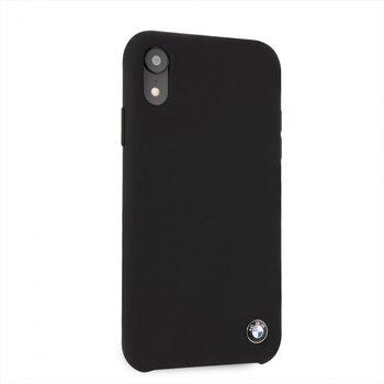 BMHCI61SILBK BMW Silicone Hard Case Black pro iPhone XR
