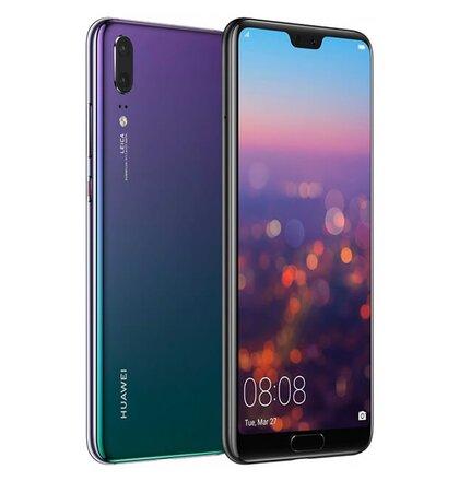 6ae018989305 Huawei P20 4GB 64GB Dual SIM Twilight Fialový - Trieda A