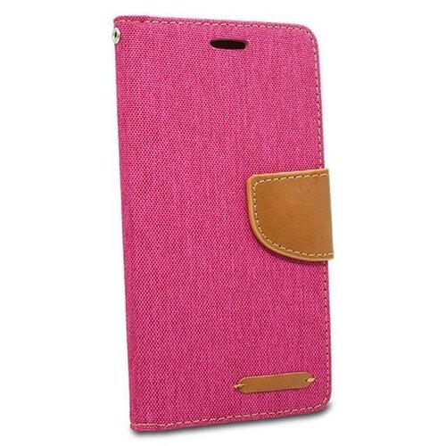Puzdro Canvas Book Samsung Galaxy J6+ J610 - ružové