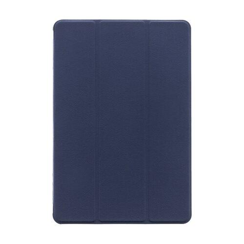 Tactical Book Tri Fold Pouzdro pro Huawei MediaPad M5 Lite 10 Blue