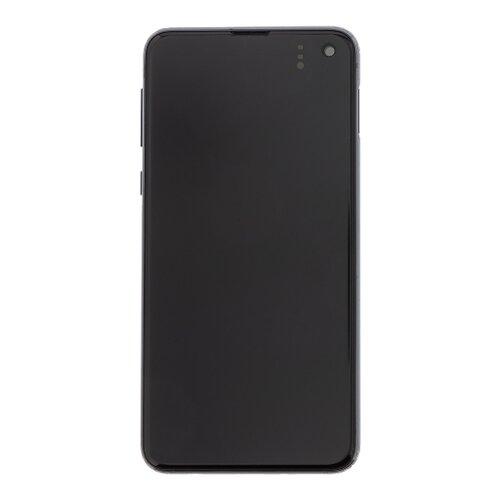 Samsung G970 Galaxy S10e - LCD Displej + Dotyková Plocha - Čierny (Service Pack)