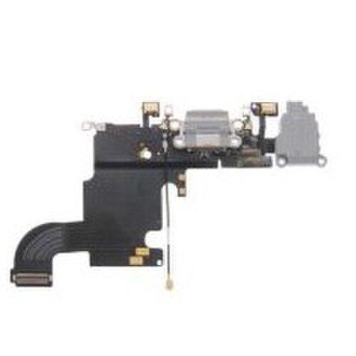 Apple iPhone 6 - Flex Kábel Nabíjacieho Konektora + Audio Jack - Biely