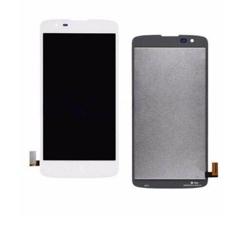 LG K8 K350n - LCD Displej + Dotyková Plocha - Biely