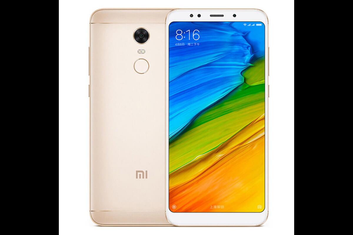 c5fcd77b61242 Xiaomi Redmi 5 Plus 3GB/32GB Dual SIM, Zlatý - SK distribúcia (RED5)