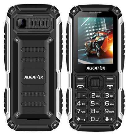 Aligator R30 eXtremo, Dual SIM, Čierny