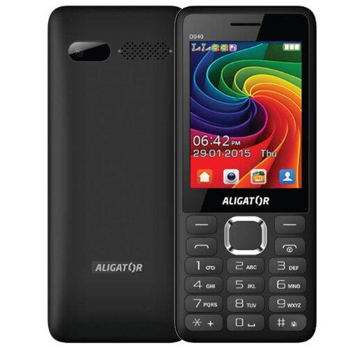 Aligator D940 Dual SIM, Čierny