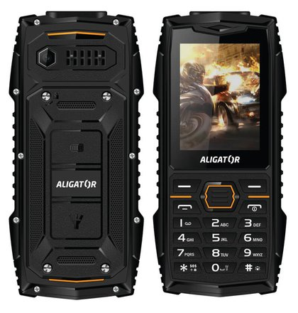 Aligator R15 eXtremo, Dual SIM, Čierny