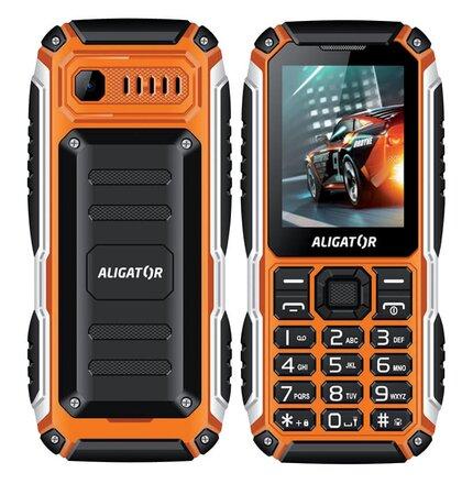Aligator R30 eXtremo, Dual SIM, Čierno-oranžový