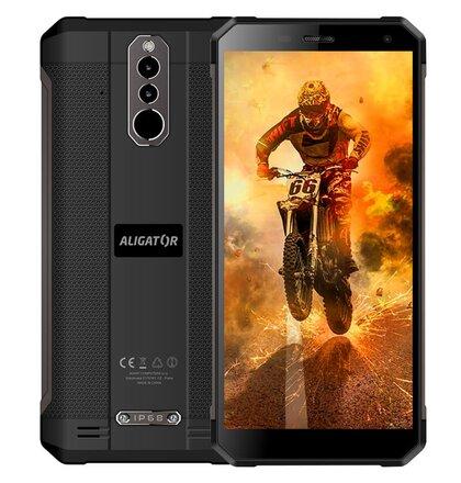 Aligator RX700 eXtremo Dual SIM, Čierny