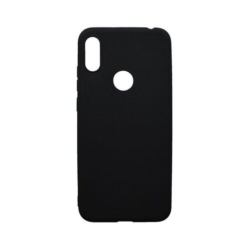Matné gumené puzdro Huawei Y6s 2019/Honor 8A čierne