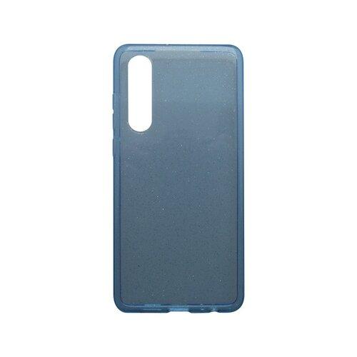Silikónové puzdro Crystal Huawei P30 modré
