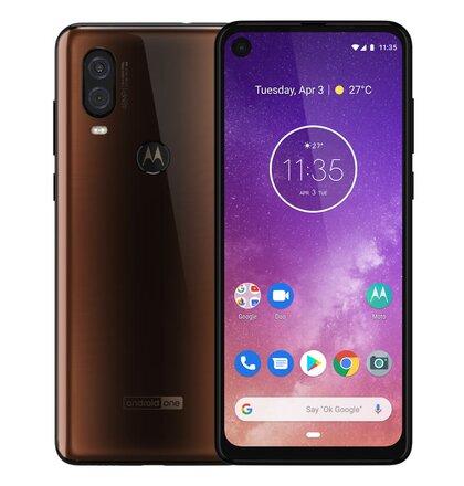 Motorola One Vision 4GB/128GB Dual SIM, Bronzová - SK distribúcia