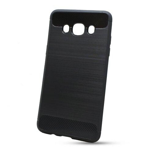Puzdro Carbon Lux TPU Samsung Galaxy J5 J510 2016 - čierne