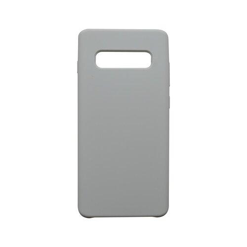 Puzdro Silicon Samsung Galaxy S10 Plus biele