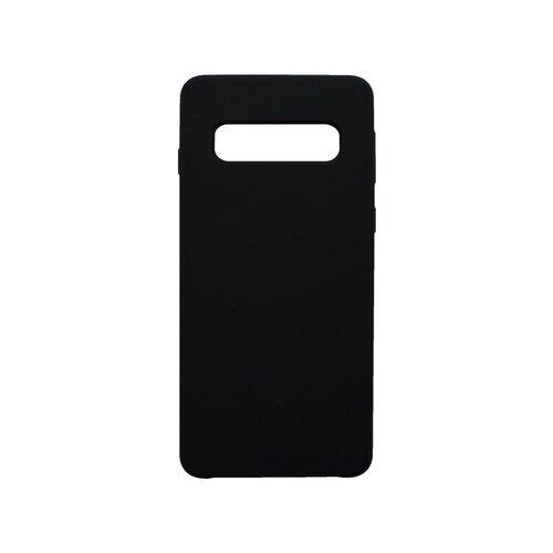 Puzdro Silicon Samsung Galaxy S10 Plus čierne