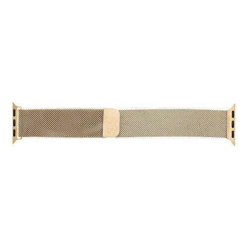 Tactical 355 Loop Magnetický kovový náramok pre iWatch 1/2/3/4/5/6/SE 42/44mm Ružovozlatý