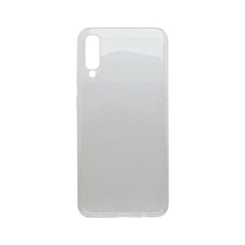 Silikónové puzdro Samsung Galaxy A70 priehľadné, nelepivé