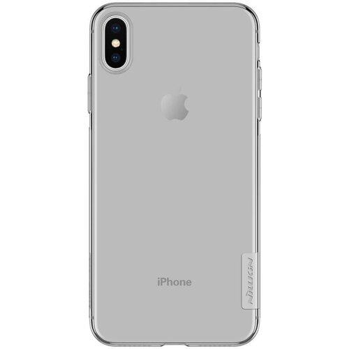 Nillkin Nature TPU Kryt Grey pro iPhone XS Max