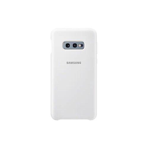 EF-PG970TWE Samsung Silicone Cover White pro G970 Galaxy S10e (EU Blister)