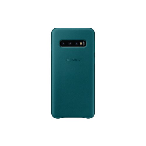 EF-VG973LGE Samsung Leather Cover Green pro G973 Galaxy S10