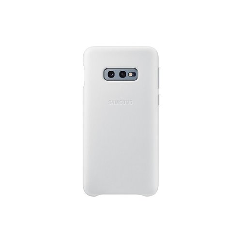 EF-VG970LWE Samsung Leather Cover White pro G970 Galaxy S10e (EU Blister)