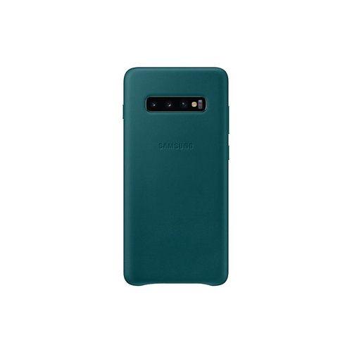 EF-VG975LGE Samsung Leather Cover Green pro G975 Galaxy S10 Plus (EU Blister)
