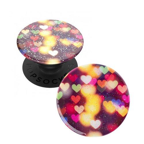 Original PopSocket Glitter Bokeh Hearts