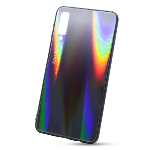 Puzdro Rainbow Glass TPU Samsung Galaxy A7 A750 - čierne