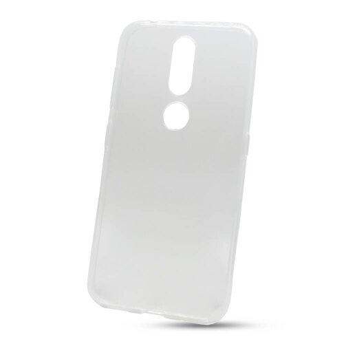 Puzdro NoName Ultratenké 0,3mm TPU Nokia 4.2 - transparentné
