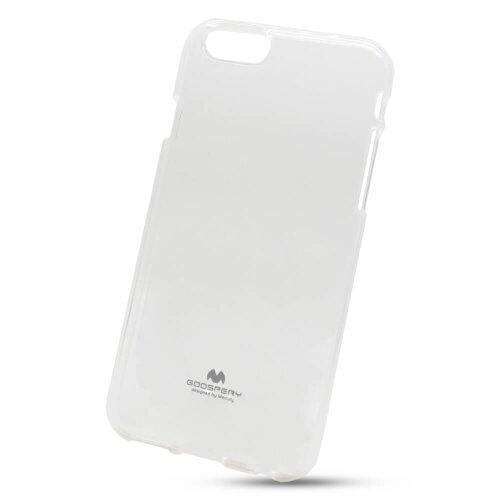 Puzdro Mercury Jelly TPU iPhone 6/6s - transparentné