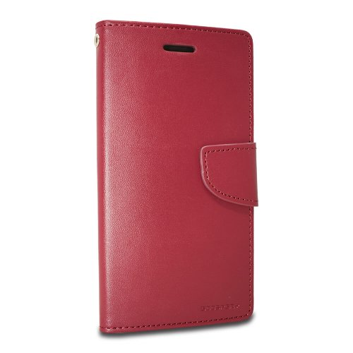 Puzdro Mercury Bravo Book Samsung Galaxy S10+ G975 - tmavo-červené