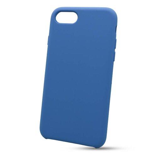 Puzdro Liquid TPU iPhone 7/8/SE 2020 - tmavo-modré