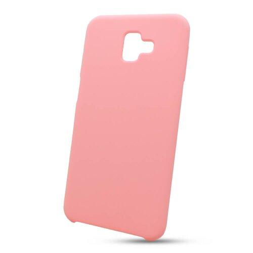 Puzdro Liquid TPU Samsung Galaxy J6+ J610 - ružové
