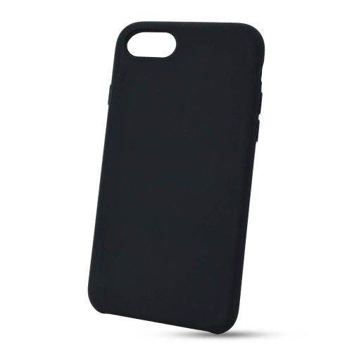 Puzdro Liquid TPU iPhone 7/8/SE 2020 - čierne
