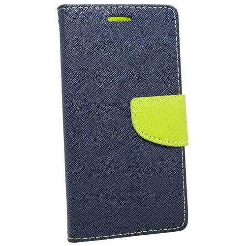 Puzdro Fancy Book LG K40 - modro-limetkové