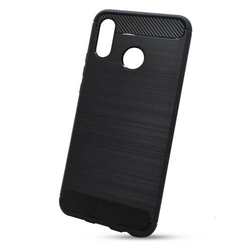 Puzdro Carbon Lux TPU Huawei Nova 3 - čierne