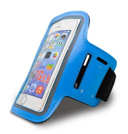 07f9276c9 Športové puzdro NoName na rameno 5XL iPhone 7 Plus/8 Plus - modré (15