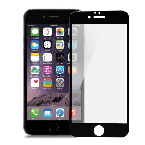 Ochranné sklo iPhone 6/6s Bluestar 3D/5D celodisplejové, tvrdosť 9H - čierne