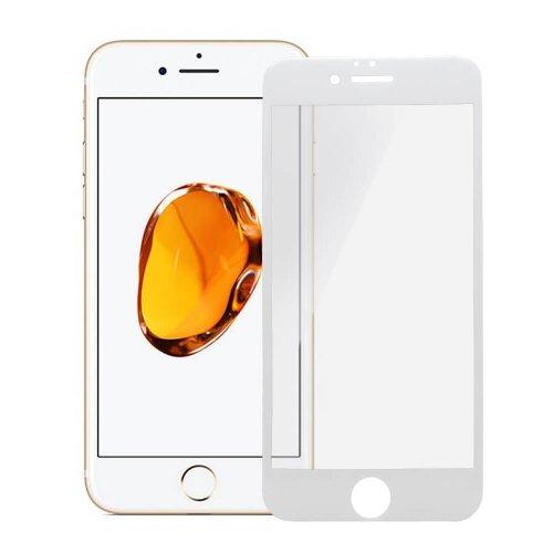 Ochranné sklo iPhone 6/6s Bluestar 3D/5D celodisplejové, tvrdosť 9H - biele