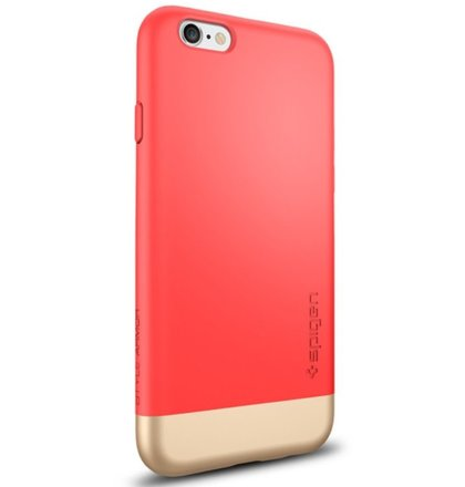 Puzdro Spigen Style Armor iPhone 6/6s - Italian Rose