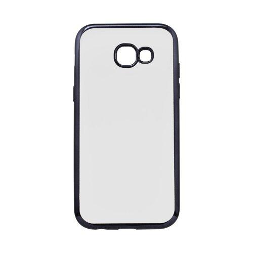 Gumené puzdro Samsung Galaxy A5 2017 priehľadné, čierny rám