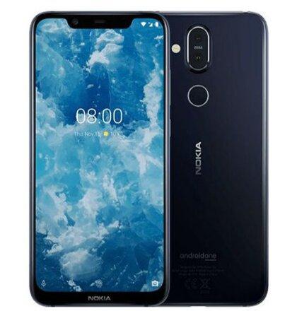 Nokia 8.1 4GB/64GB Dual SIM Modrý - Trieda A