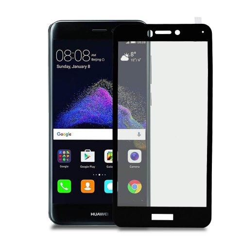 Ochranné sklo MyScreen Huawei P9 Lite 2017 tvrdosť 9H celotvárové - čierne